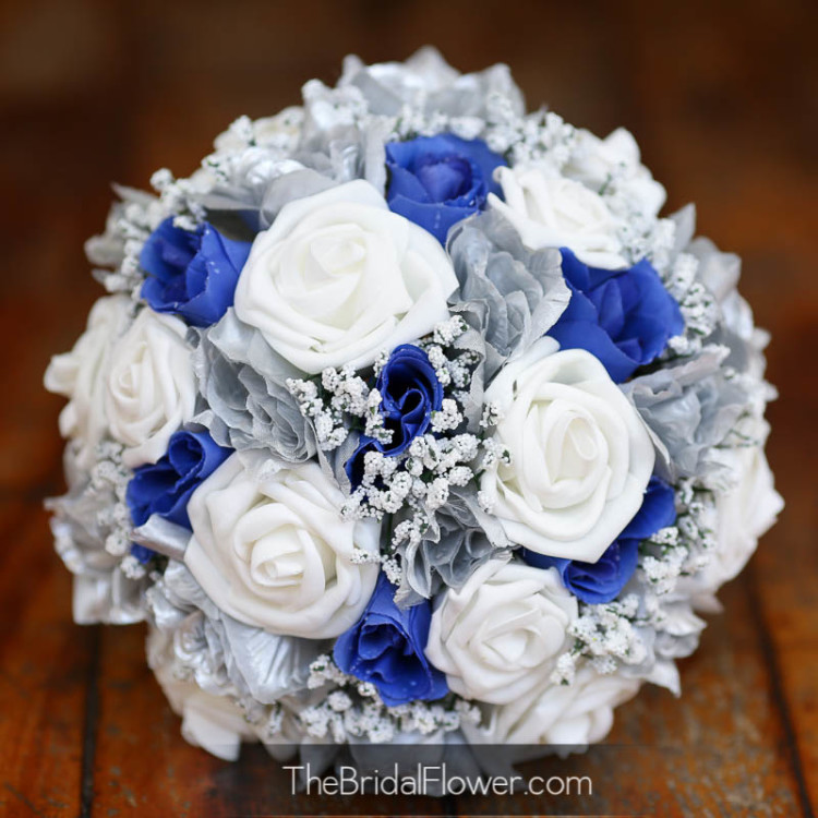 White And Silver Wedding Flowers Gallery - Flower Decoration Ideas