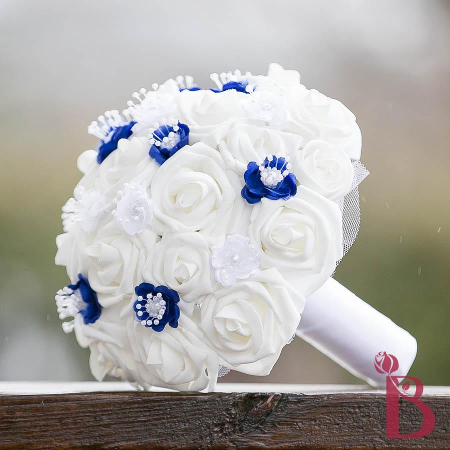 royal blue and white wedding bouquets car interior design. Black Bedroom Furniture Sets. Home Design Ideas