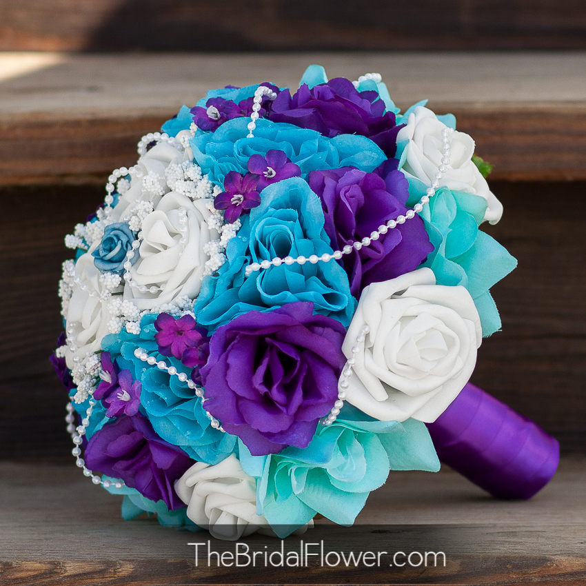 Cool Tiffany With Teal And Purple Wedding Ideas