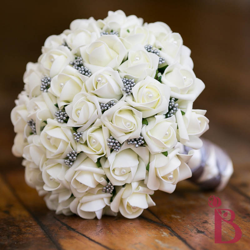 Gray Ivory Wedding Bouquet Md More Colors The Bridal