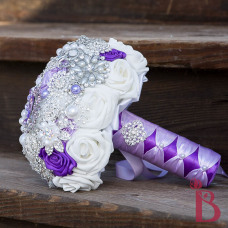 brooch broach wedding bouquet bookay