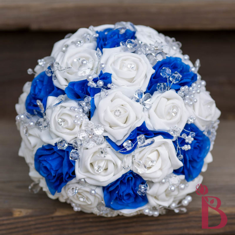 Pictures Of Royal Blue And Silver Wedding Flowers Wwwkidskunstinfo
